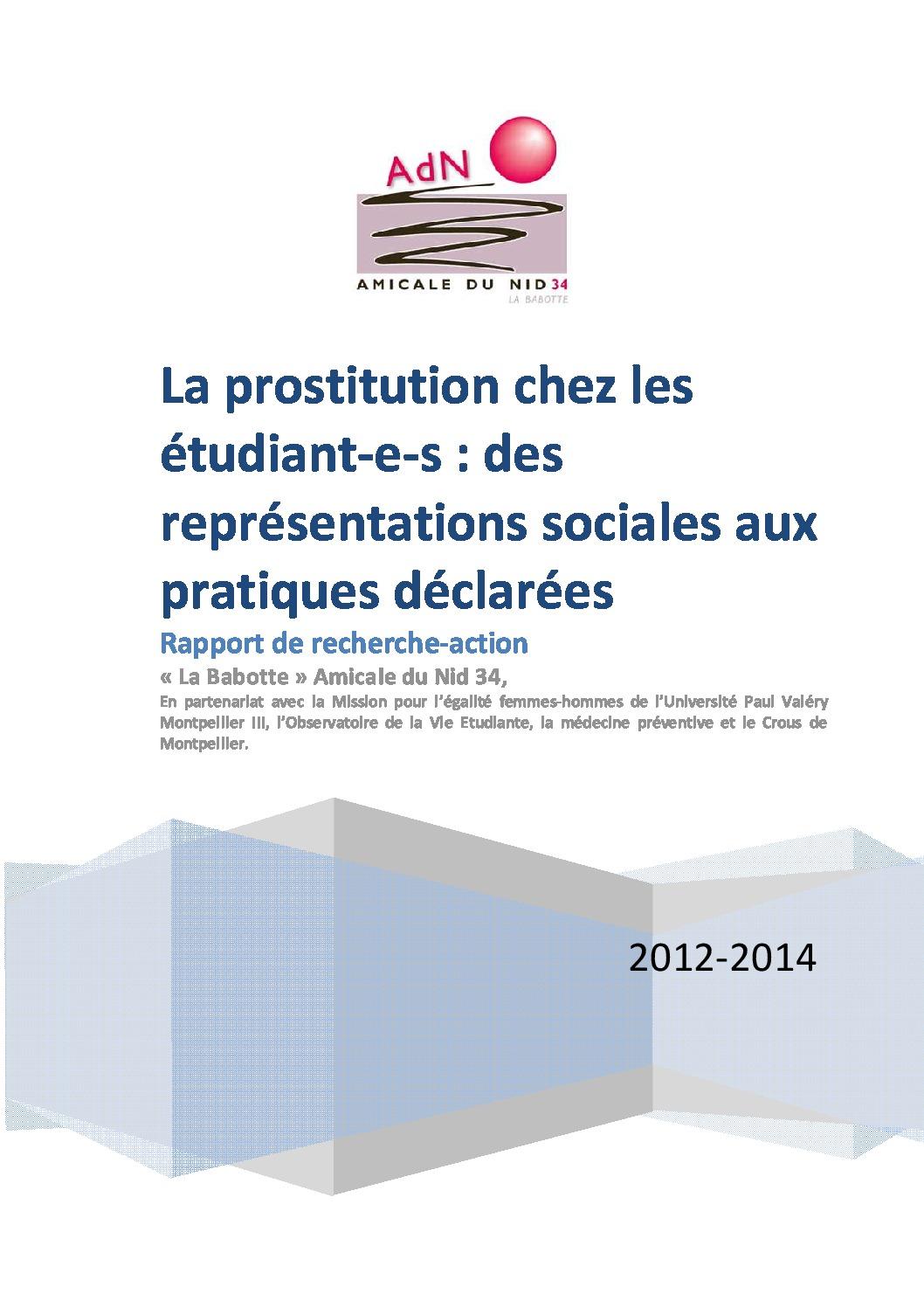 thumbnail of Prostitution des étudiant-e-s_Rapport